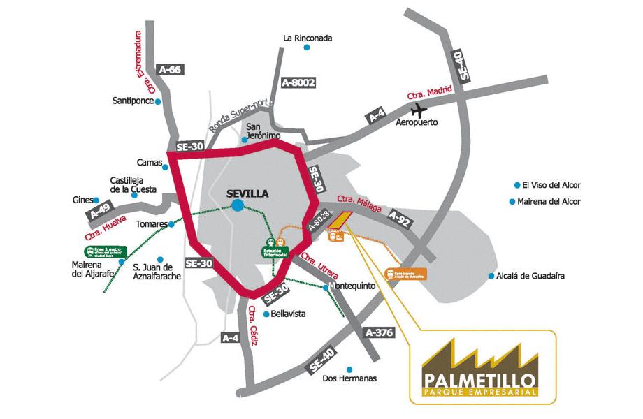 Plano de localización y accesos